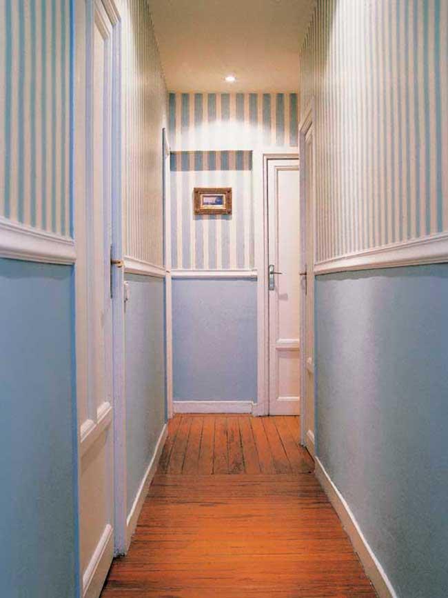 Colores ideales para pintar pasillos estrechos