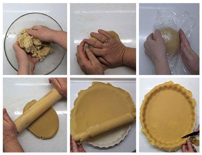 Cómo hacer una base para tartas y tartaletas