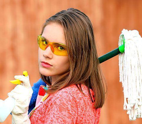 Limpiar tu casa en poco tiempo.