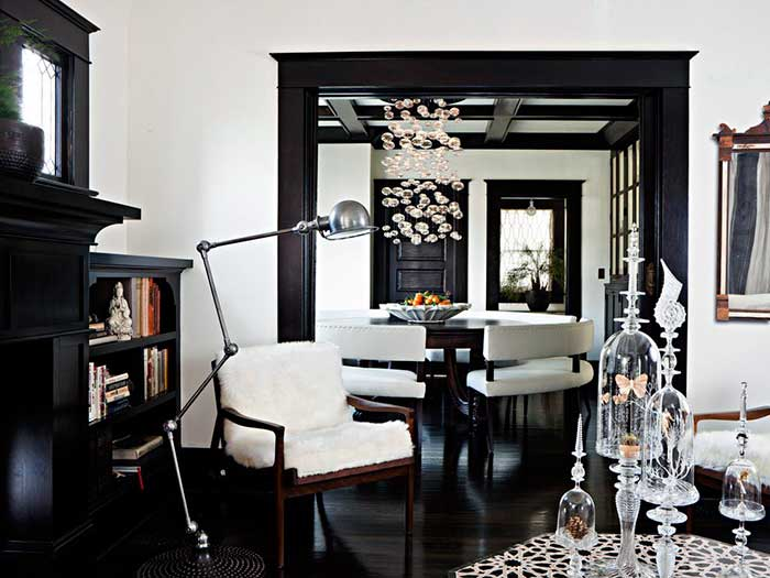 "Decoración con estilo en blanco y negro ""Black & White"""