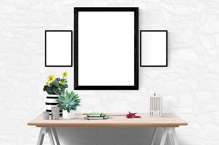 """Decoración con estilo en blanco y negro """"Black & White"""""""