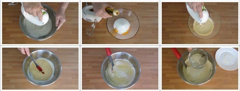 Bizcocho fácil y esponjoso sin horno en sartén