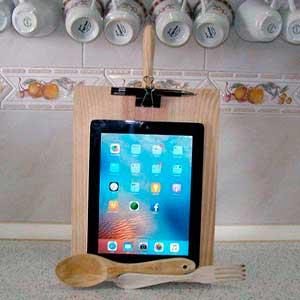 Cómo hacer un soporte de tablet fácil para la cocina