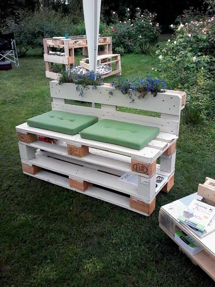 Eres un manitas aqu te traigo muebles de palets para jard n for Ideas con palets para jardin