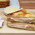 Sandwich Montecristo. Receta original fácil y rápida