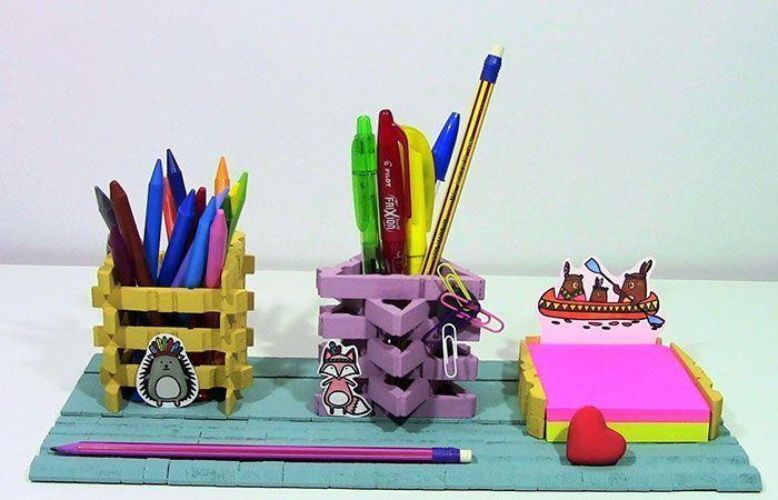 regalos-dia-de-la-madre,-organizador-de-mesa-de-pinzas-de-madera