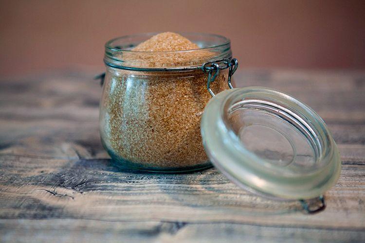 exfoliante casero con café, azúcar y avena