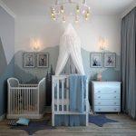Cómo decorar habitaciones de bebes