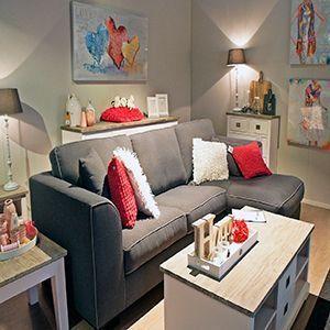 Cómo decorar un salón mini, sin que pierda todo su encanto.