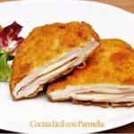 Pechugas rellenas de jamón y queso o cordon bleu