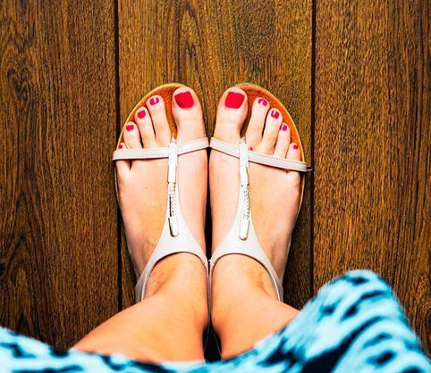 tener unos pies bonitos para el verano