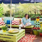 En verano realiza la mejor fiesta en tu  jardín decorado con  elementos creativos