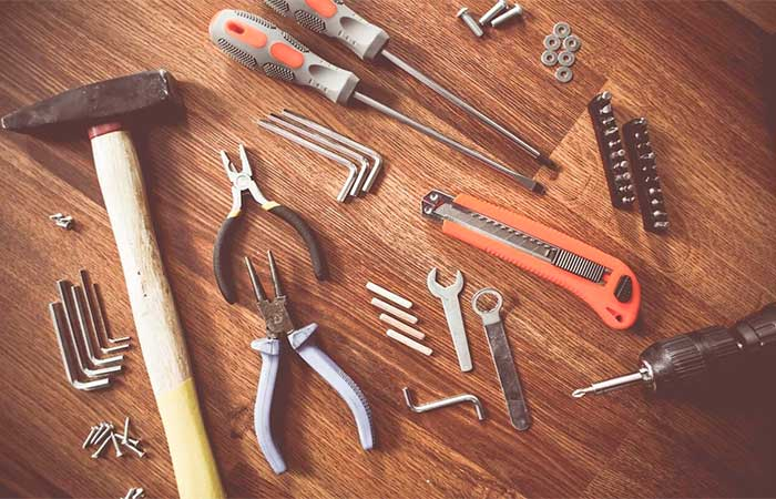 herramientas de bricolage