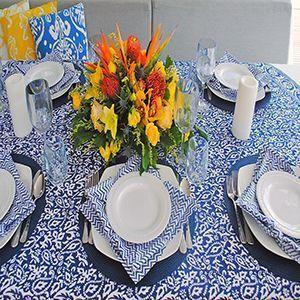 Textiles para decoración en verano