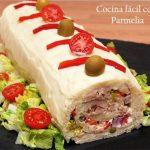 Enrollado de sandwich de atún ¡Super fácil y sabroso!