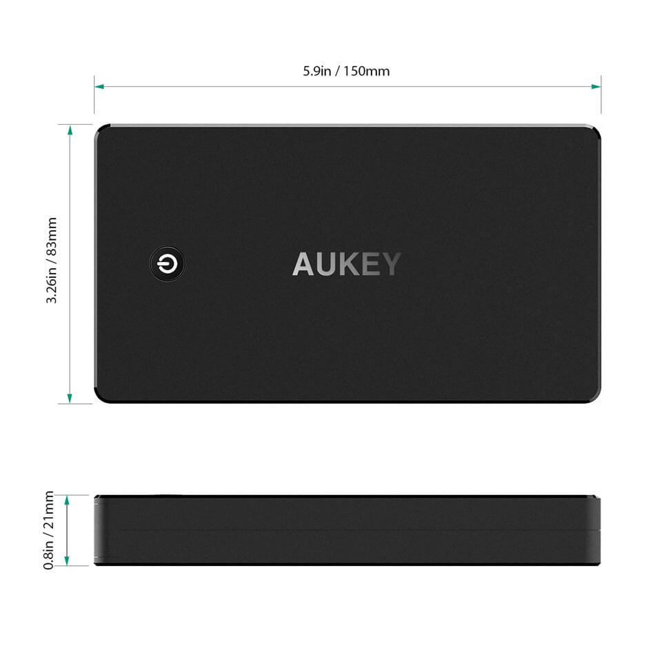 Aukey-carga-r-pida-3-0-20000-mAh-Bater-as-port-tiles-cargador-r-pido-port