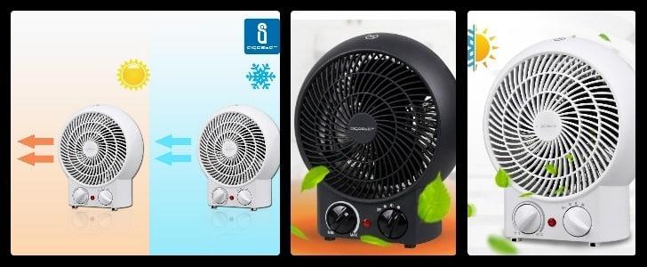 Calefactor eléctrico Aigostar