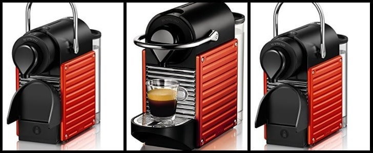 cafetera nespresso pixie red xn3006