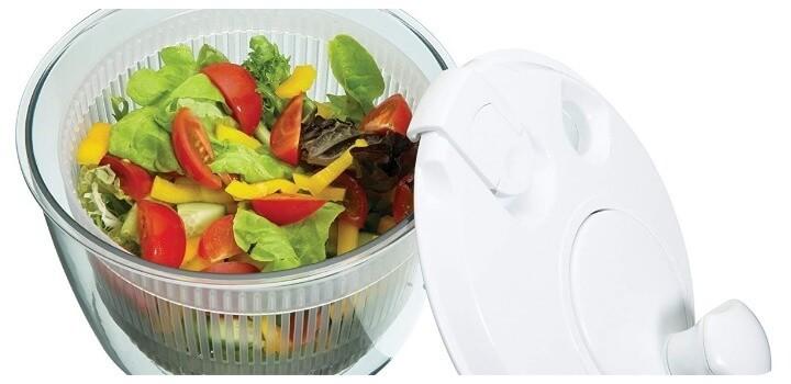 capacidad centrifugadora de ensalada
