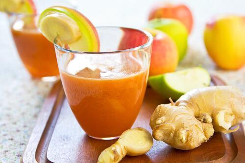 jugo-zanahoria-y-manzana