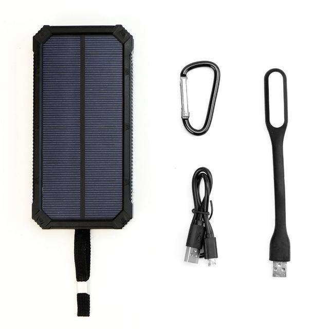 mejor cargador portátil solar de 15000 mAh