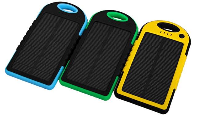 mejores cargadores portátil solar