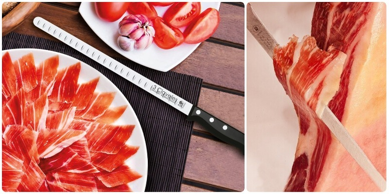 en que fijarse al comprar cuchillo jamonero 3 claveles
