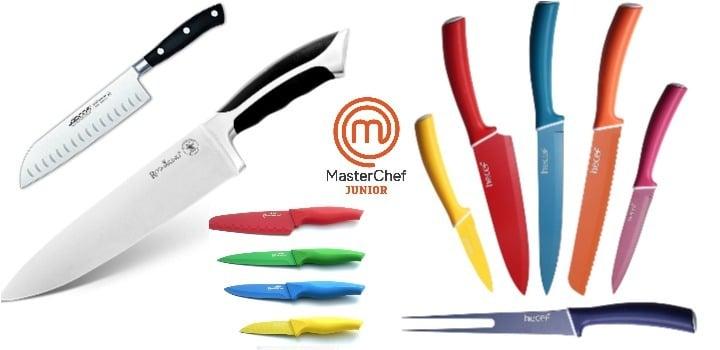 los mejores cuchillos masterchef junior