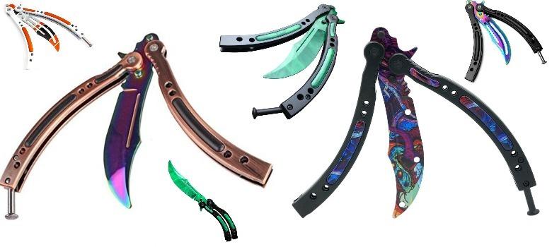 mejores cuchillos mariposa