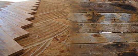 Humedades en la madera