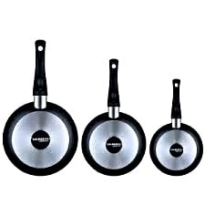 Juego de tres sartenes Cooksmark Essential