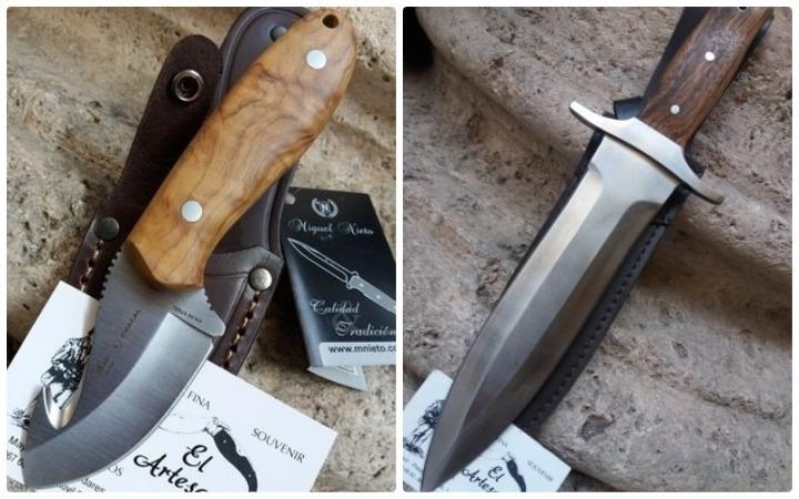 tipos de cuchillos de caza