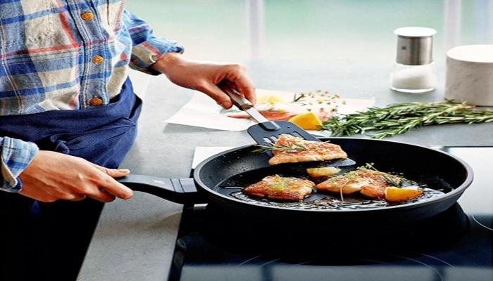 cocinando salmón en wmf permadur