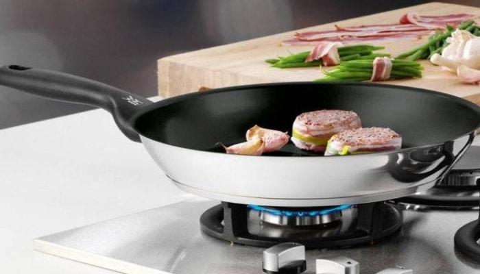 cocinando carne en wmf favorit