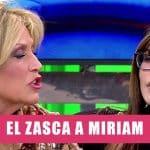 Miriam Saavedra se lleva un zasca por criticar el concurso ghvip