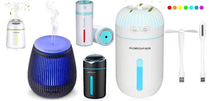 los mejores humidificadores portatiles