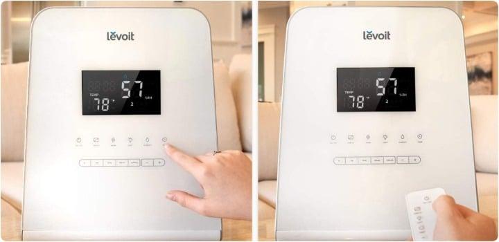 como funcionan humidicadores aire caliente