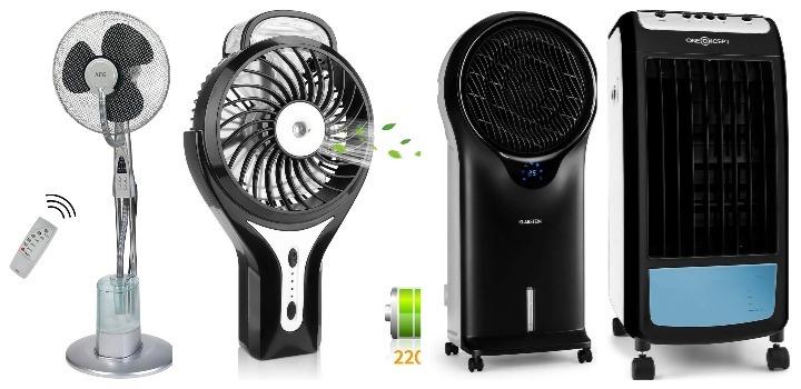 mejores ventiladores humidificadores