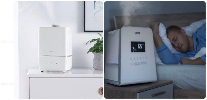 nuestra opinion humidificadores vapor caliente