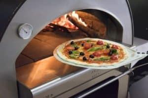 horno de leña para pizza