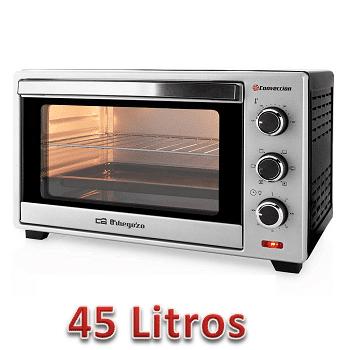 Mejores hornos de sobremesa 45 litros