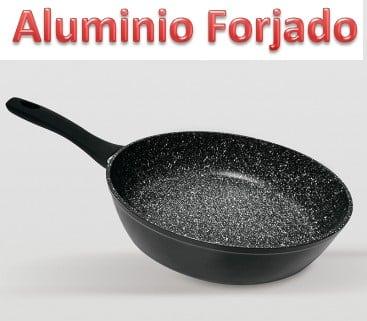 Mejores sartenes de aluminio forjado