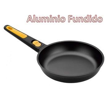 Mejores sartenes de aluminio fundido