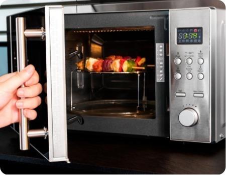 como usar horno microondas barato