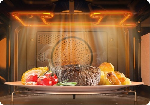 opinion ventajas hornos de microondas combinado