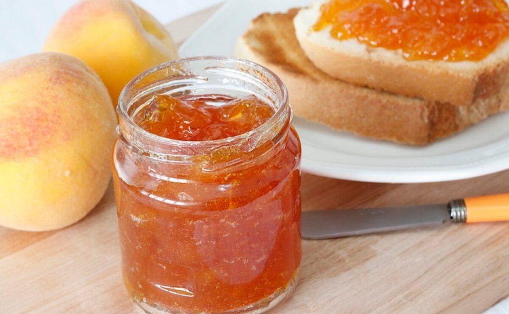 Mermelada de melocoton – Una receta divertida y facil de hacer en casa. Melocoton, postre, antioxidante, fibra, agua, saludable, glucosa, diabetes, desayunos y meriendas