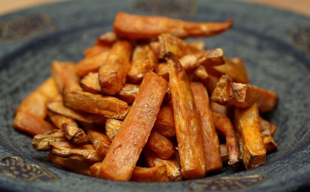Receta de Batatas con Miel ¡ en unos minutos !